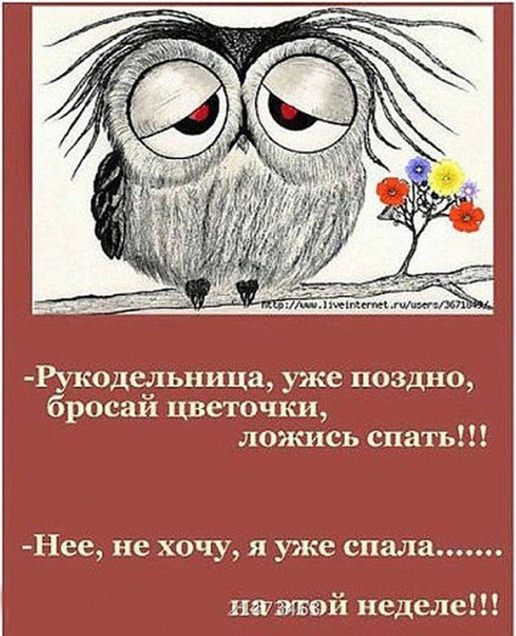 👩Рукодельница, уже поздно, бросай цветочки🌺, ложись спать😴!!! 😄- Нее, не хочу, я уже спало....на этой неделе!!! ____________________________ #worldhandmadegallery #ручная_работа #авторская_работа #стресс #эмоции #чувства #смысл #жизнь #сон #сова #хомячки #хобби #цветочки #люди #энергия #рукоделие #style #fashion #stylish #love #handmade #handmadedecorations #вышивка #вязание #тильда #украшения #рукодельница #макраме #feltingtoy #мир