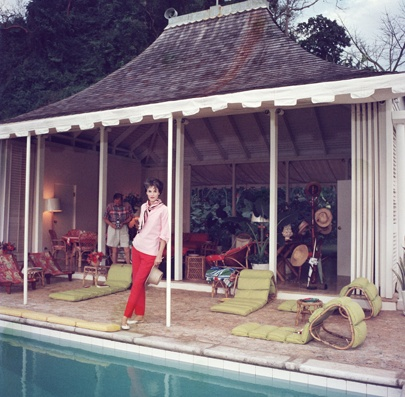 Babe Paley via Slim Aarons in Round Hill