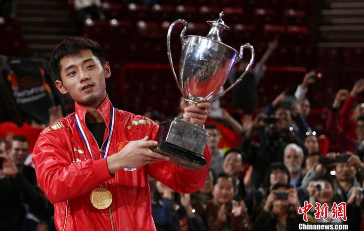 zhang jike current table tennis world champion - Google Search