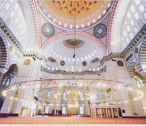 """newyorkcity on Instagram: """"Take my breath away."""" @turkey_home Welcome to the Süleymaniye Mosque in Istanbul , Turkey. #BlackSeaHunt"""
