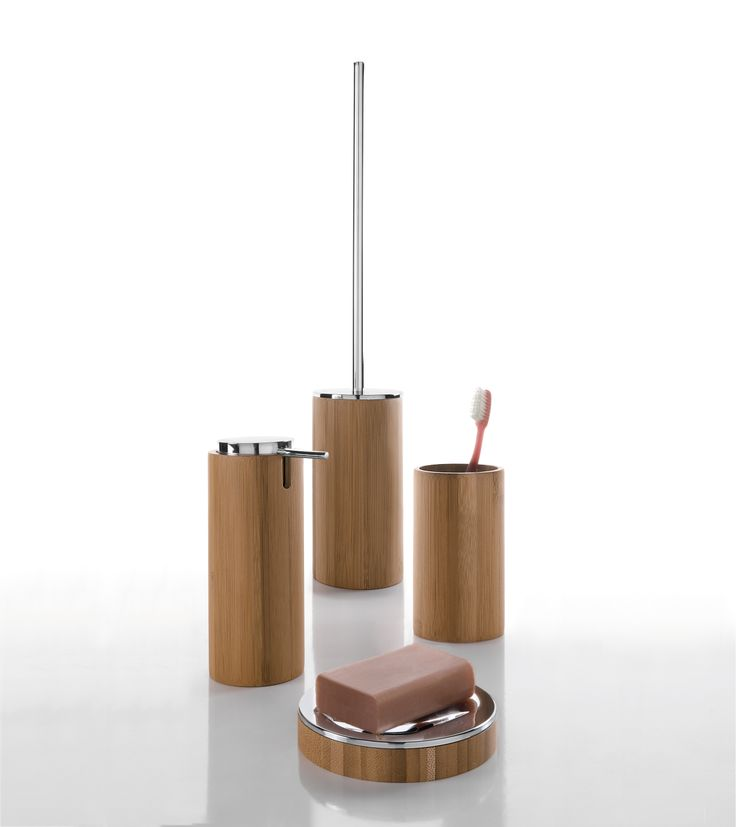 Something a little different - Bamboo Bathroom Accessories from Online Bathrooms UK
