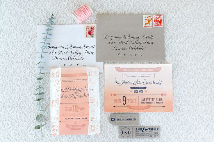 Ombre-Watercolor-Letterpress-Wedding-Invitations