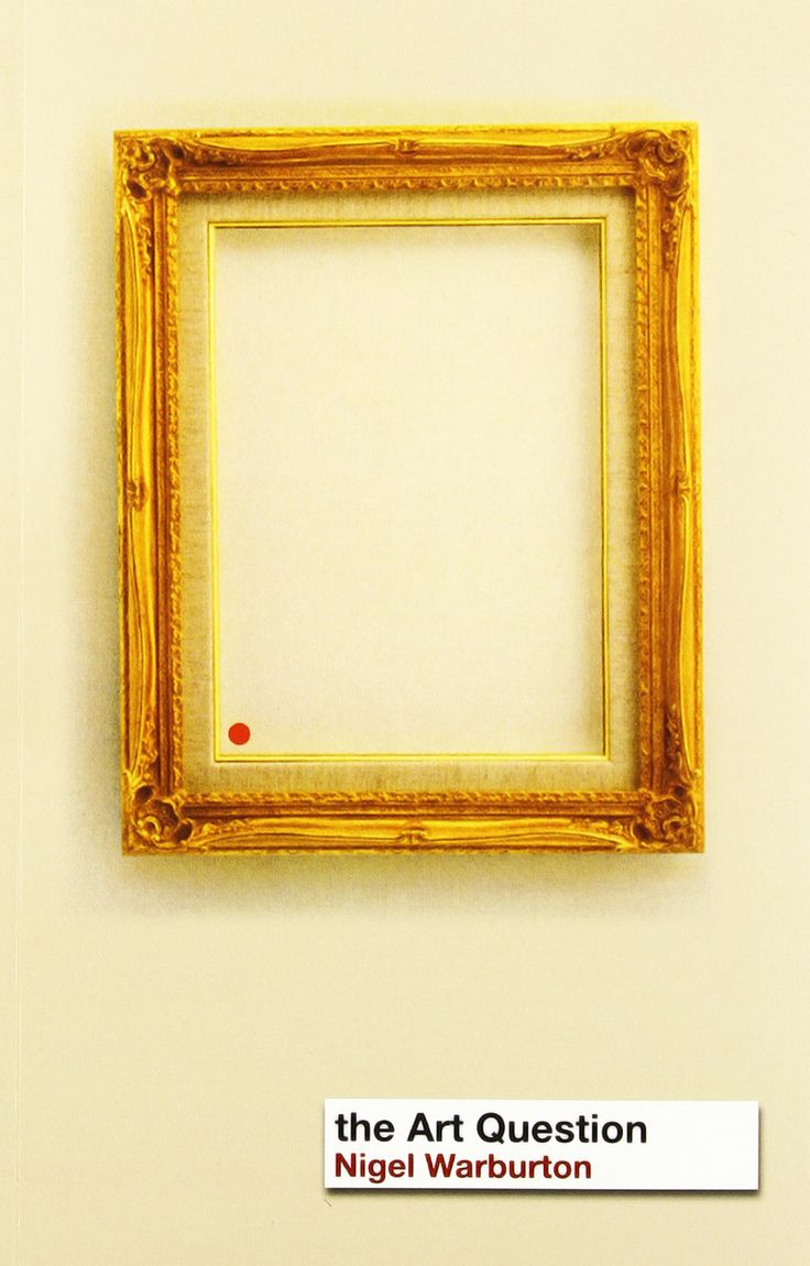 """THE ART QUESTION"". NIGEL WARBURTON. 2003."