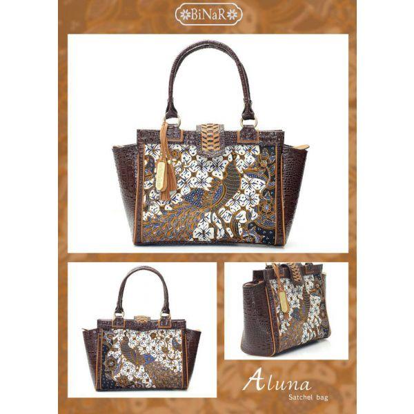 ALUNA COKELAT - Beautiful Batik Bag