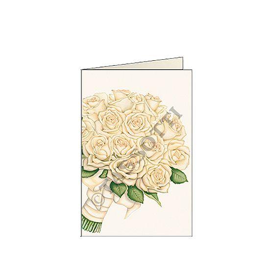 "biglietti d'auguri piccoli 7x105 cm tassotti ""bouquet"