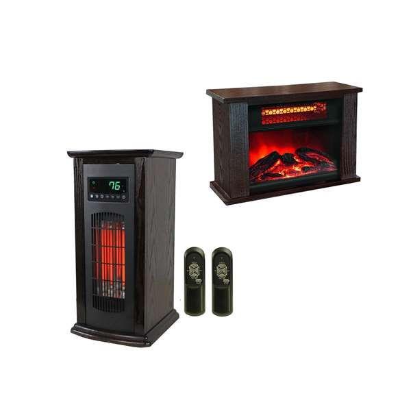 Lifesmart Lifepro 150 Sqft Infrared Heater W Mini