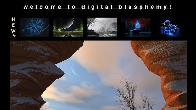 Most Popular Wallpaper Site: Digital Blasphemy Most Popular Wallpaper Site: Digital Blasphemy
