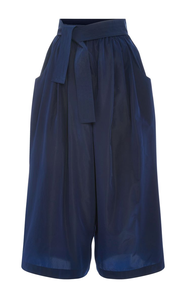 Taffeta Cropped Karate Pants by TOME Now Available on Moda Operandi