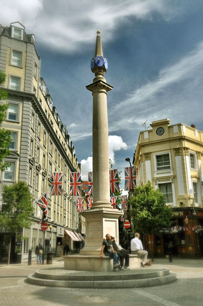 Situated in the heart of London's West End between Soho and Covent Garden, Seven Dials was originally laid out in the early 1690s by Thomas Neale as a seven-road junction around a central monument topped with six sundial faces. At the time, the monument was regarded as one of London's 'great public ornaments', and Neale aimed to establish Seven Dials as one of the most fashionable addresses in London.