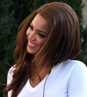 Beyonce Vöröses Barna haj