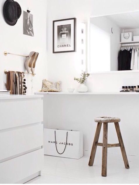 Walk In Walk In Closet Pinterest