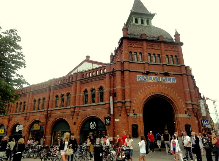 Travel & Lifestyle Diaries: Ostermalms Saluhall Building, Stockholm