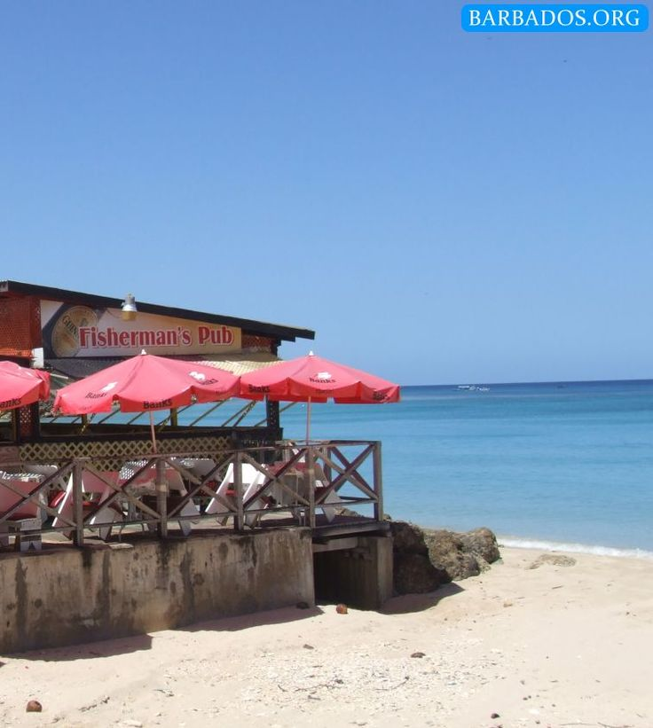 One of the fantastic beachside restaurants in Speightstown, Barbados.