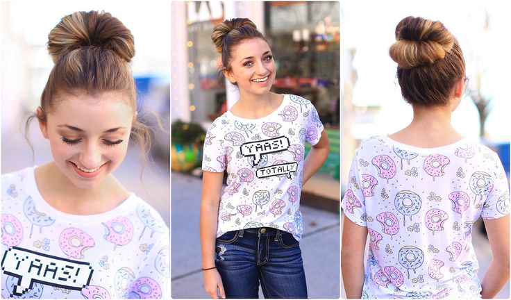 Create a Double Fan Bun in Under 2 Minutes! | Cute Girls Hairstyles