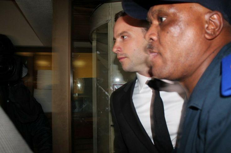 PHOTO: Corné van Zyl Oscar Pistorius leaving the North Gauteng High Court on Monday.