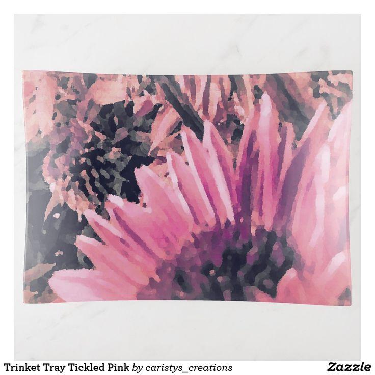 Trinket Tray Tickled Pink