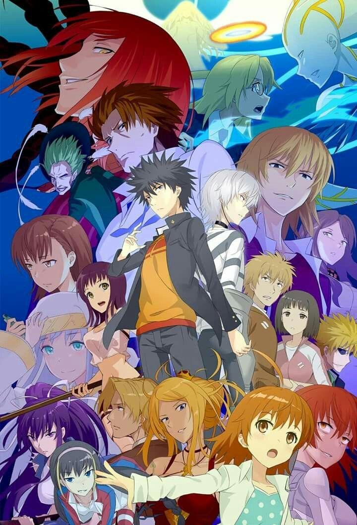 Kamijou Touma Anime Anime Art Anime Fanart