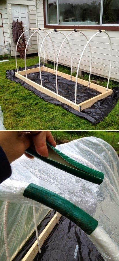 Una clip per teli serra facile ed economica #faidate #giardinaggio
