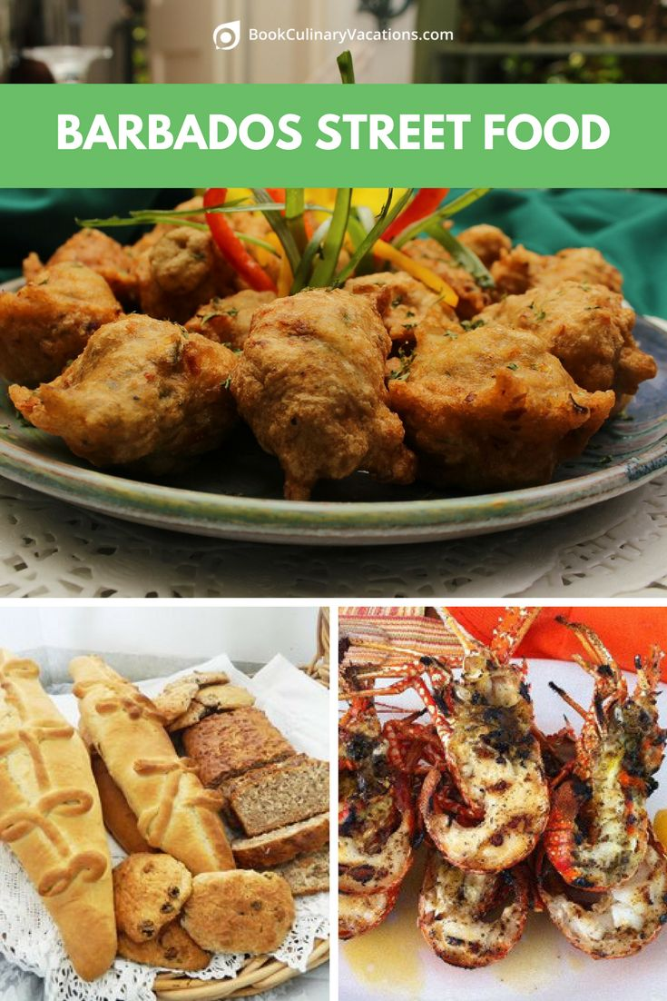 "One of the things I love about the Caribbean is enjoying the exotic authentic flavors of the local street food vendors. And Barbados is queen of the crop when its comes to authentic local street food or as we say in the Caribbean ""food made pon de road side"". These foods are made by local cooks all over the islands who sell their scrumptious delights on the local beaches, street corners, rum shops, and farmers markets."
