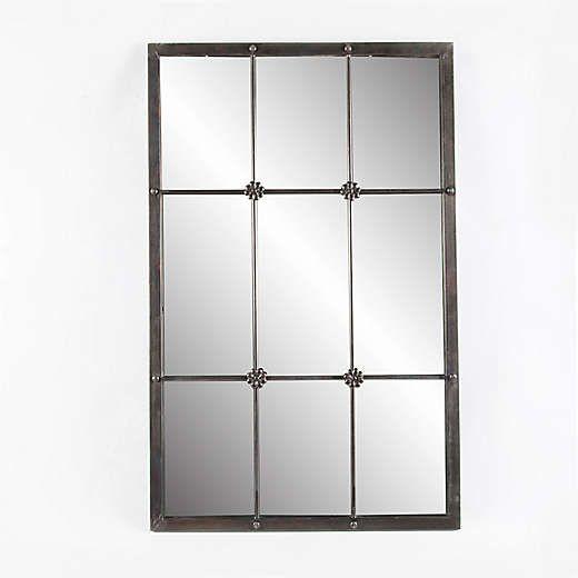 Windowpane Mirror Bed Bath Beyond Metal Window Frames