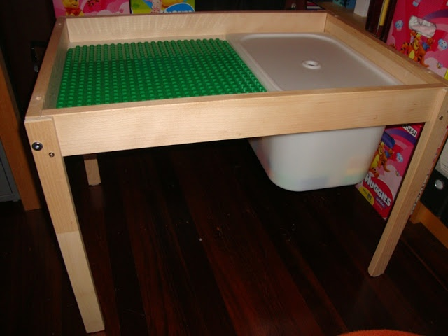 IKEA Hackers: From change table to two level play table