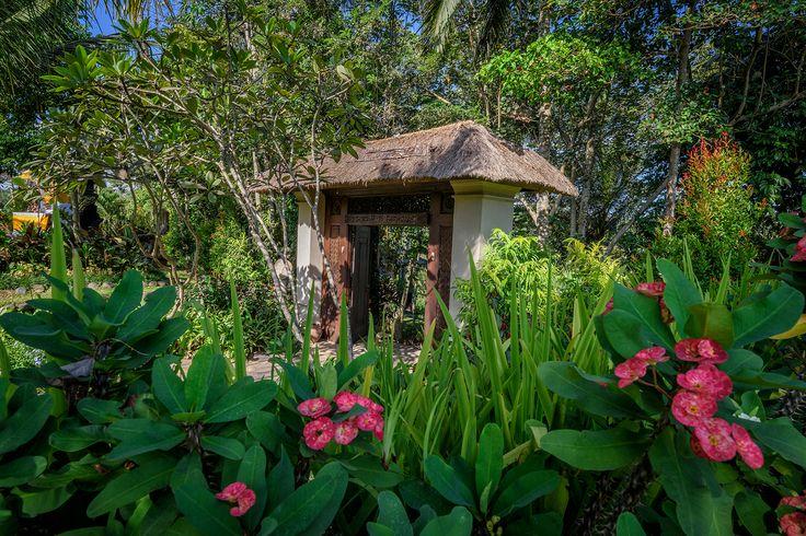 entrance gate to paradise