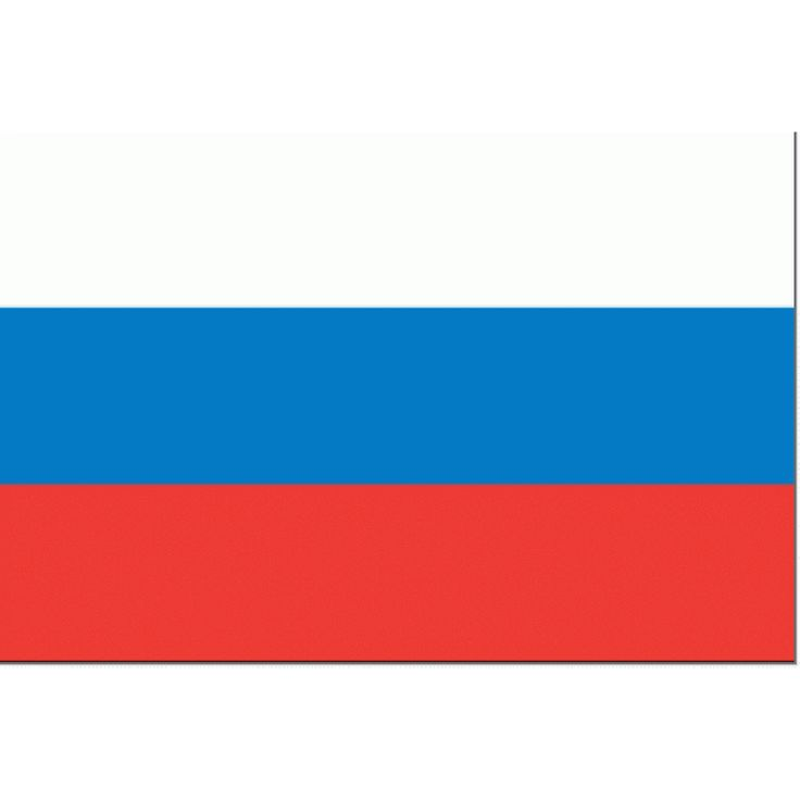 Tafelvlag Rusland 10x15cm | Russische Tafel vlag