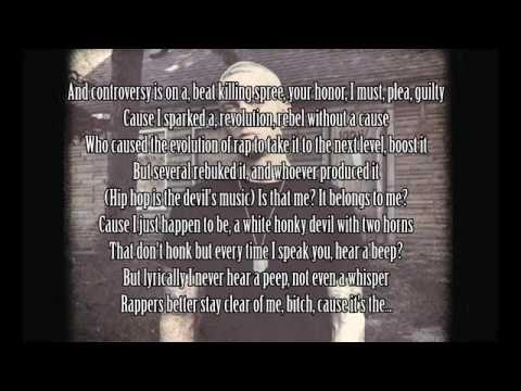 Eminem - Rhyme Or Reason + Lyrics (HD) NEW 2014