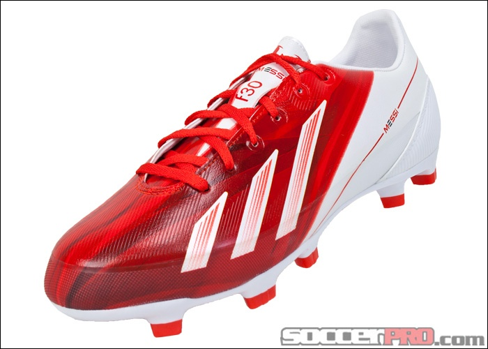 adidas soccer cleats red and white