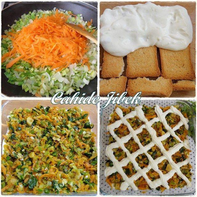 etimekli salata yapımı