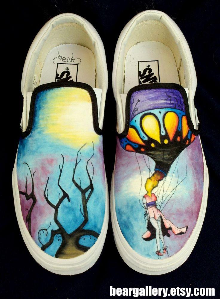 Circa Survive shoes!!!!