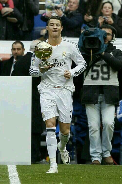 Cristiano Ronaldo. Balón de Oro | CRISTIANO RONALDO CR7 | Pinterest