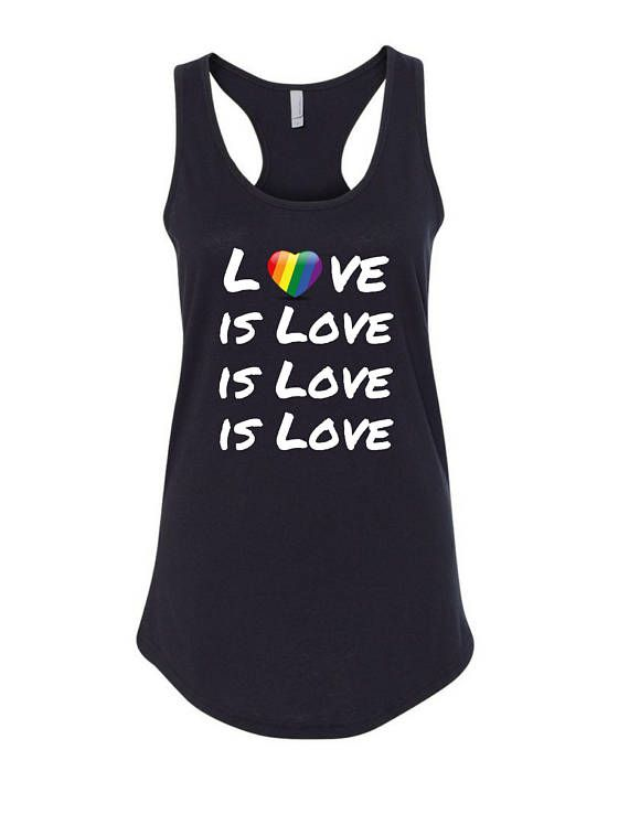 Love is Love Woman's tank orlando strong  pride