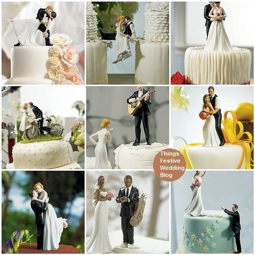 Custom wedding cake toppers let you personalize the topper to reflect you. as low as $19.98