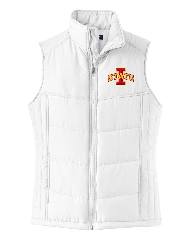 Womens ISU Puffy Vest