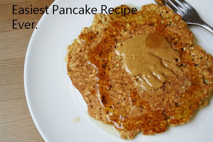 Two Ingredient Pancake (oats and an egg!)