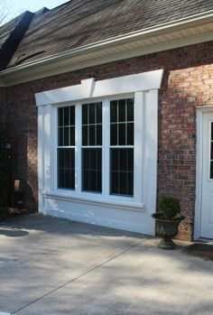 Image result for how to turn a garage door into a window