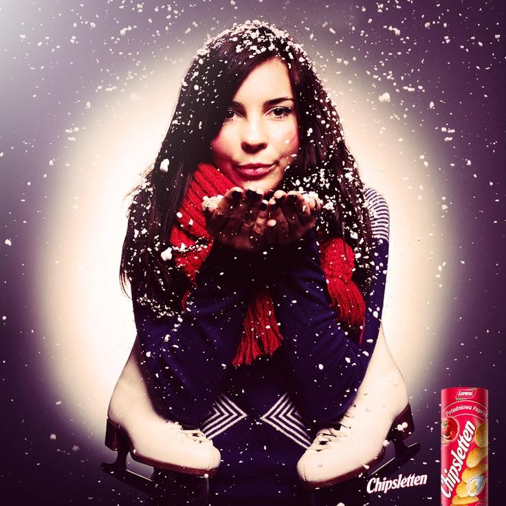 Lubię zimę... nawet jak szczypie w policzki :)    #podróże #relaks #chipsletten #przekąska #papryka #chwile
