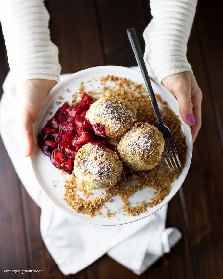 Topfenknödel/Quark Dumplings