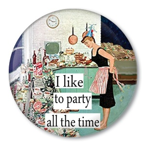 #party #badge #pinback #button: Cake