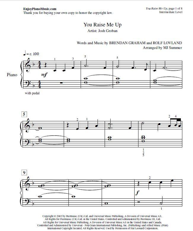 Christmas Canon Lyrics Sheet Music: 43 Best Klaviernoten Für Anfänger Bei Notendownload Images