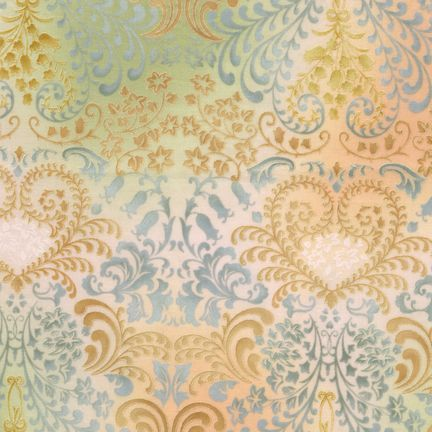 Robert Kaufman Fabrics: APTP-5574-198 PASTEL by Peggy Toole from Fusions® 5574