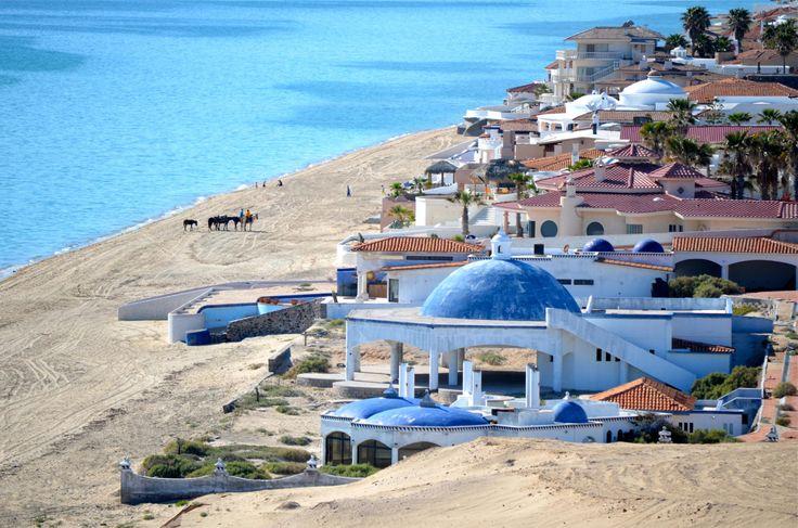 Rocky Point, Mexico aka Puerto Penasco Mexico on the Sea of Cortez in ...