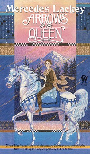 Arrows of the Queen (Heralds of Valdemar). Talia, a young runaway, is made a herald at the royal court after she rescues one of the legendary Companions. When she uncovers a plot to seize the throne, Talia must use her empathic powers to save the queen.