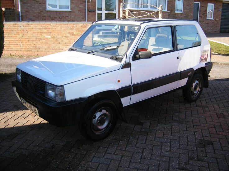 Just like my old one! Fiat Panda 4x4