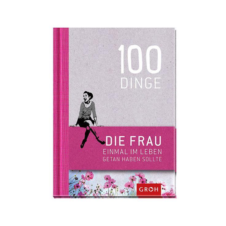 Buch 100 Dinge, die Frau einmal im Leben getan haben sollte Geschenk Trauzeugin, Brautjungfer