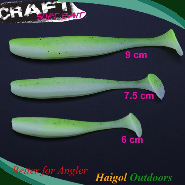 Small soft fishing ᗚ lure for bass fishing  --9 ᗚ cm 10 pcs one bag soft lure for zander soft baitSmall soft fishing lure for bass fishing  --9 cm 10 pcs one bag soft lure for zander soft bait