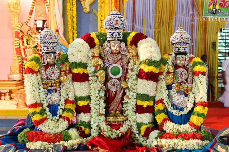"""SIGNIFICANCE OF KALYANOTSAVAM :    This ritual is usually performed seeking the well being of the entire humanity. However in Vaikhanasa Agama, which is in practice in Tirumala to carryout temple rituals, Kalyanotsavam is popularly known as """"Vaivahika Mahotsavam"""". So the couples especially the newly wed, who wish to have a blissful marital life with the blessings of Lord Venkateswara do participate in Kalyanotsavam in big numbers."""
