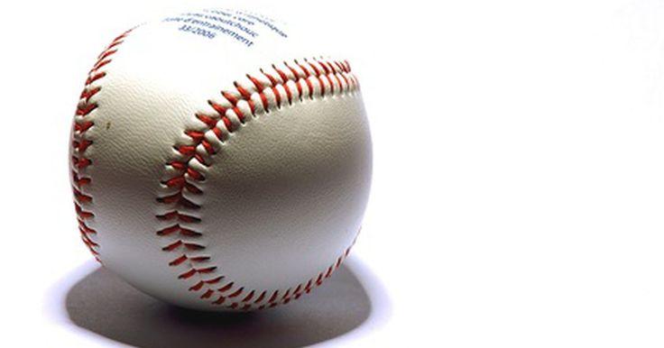 Cómo redactar las invitaciones para una fiesta de béisbol