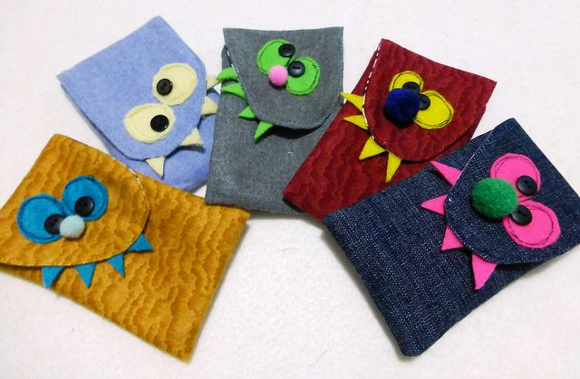 Crazy Critters Tissue Pouches